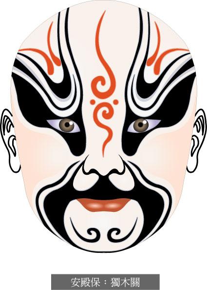 Beijing opera mask-2