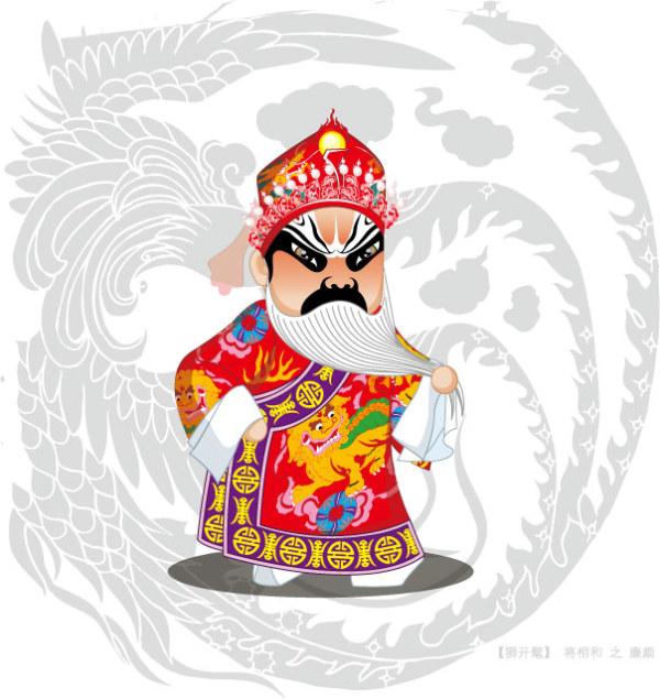 Q version of Peking Opera characters-1