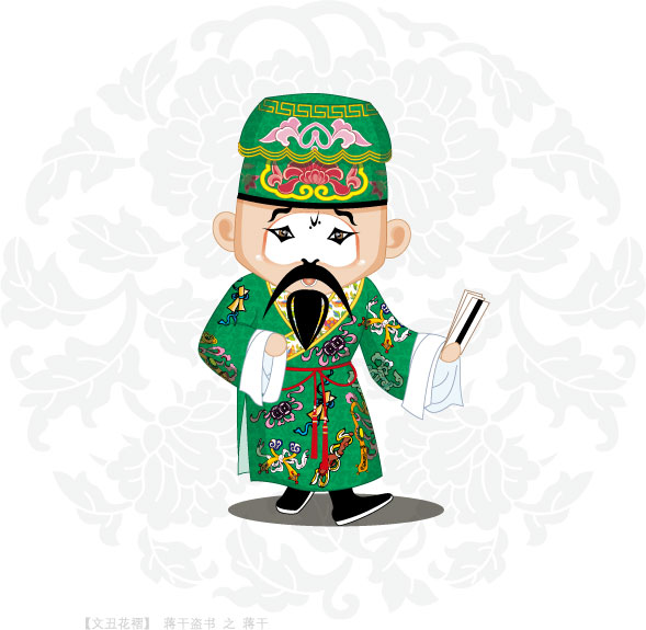 Q version of Peking Opera characters-2