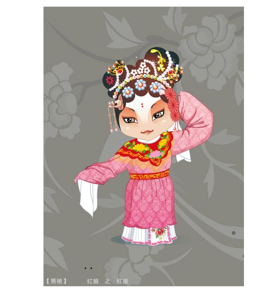 Q version of Peking Opera characters-3