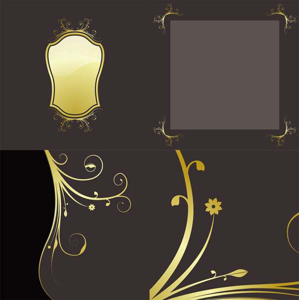 gold lace material