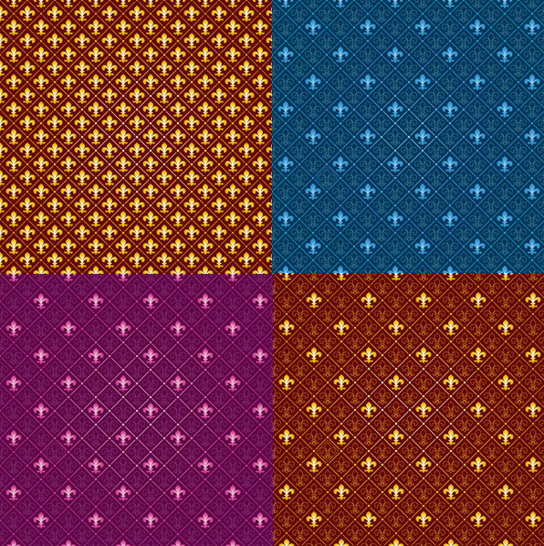 Vector background pattern tile trend of material