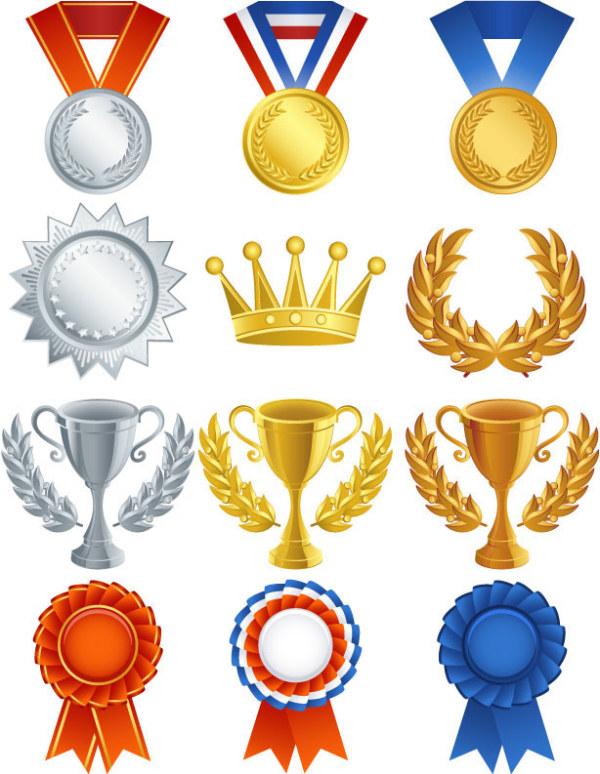 Medal trophy medals vector