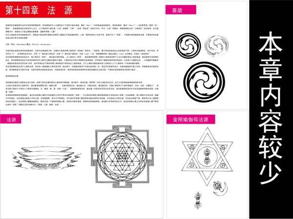 Buddhist symbols, objects diagram