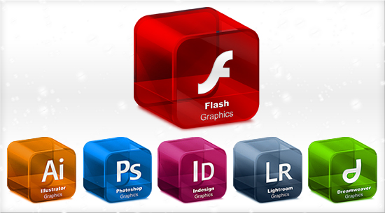 flash ai ps id lr dreamweaver png