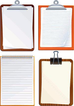 Record folder Vector material