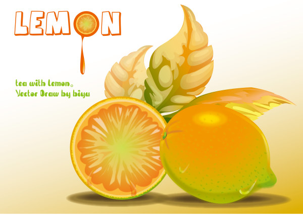 Lemon Vector Material