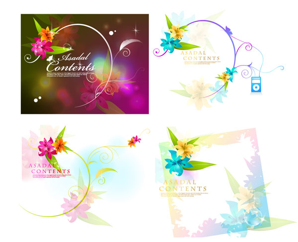 Dream Flower Vector-1