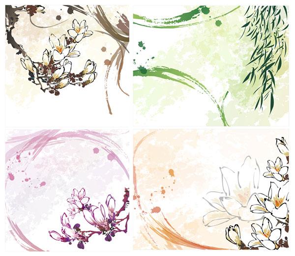 Kapok, willow, willow flower vector