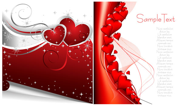 Valentine element vector material