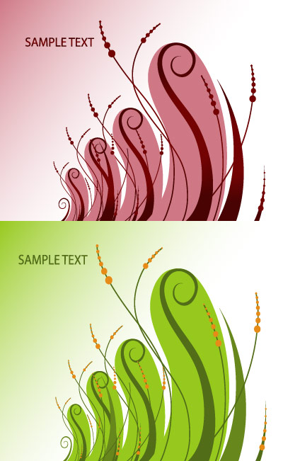 Particular pattern vector material