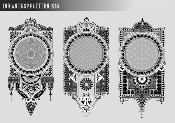 Classical banner vector