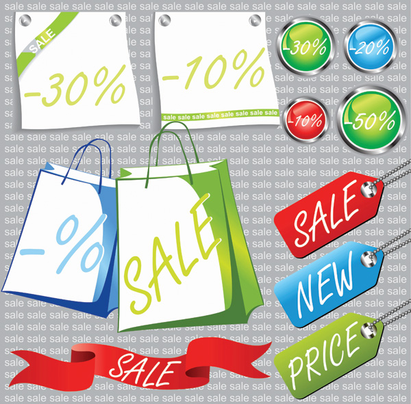 Promotional material related price vector