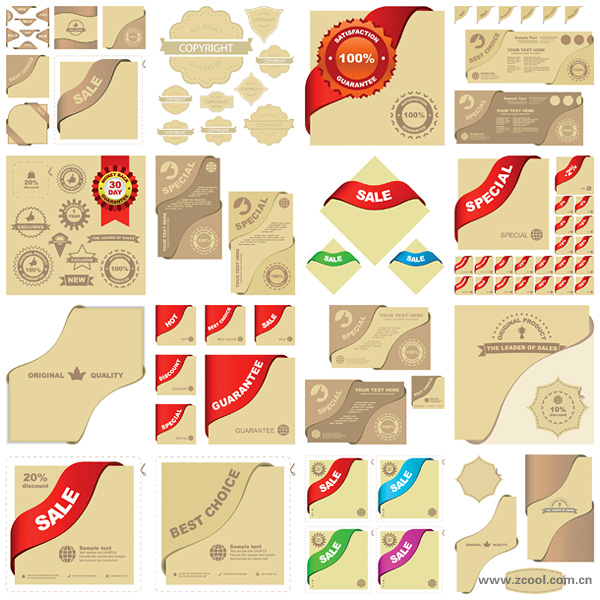 Vector graphic elements related material sales