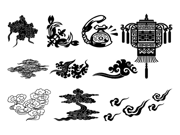 A traditional style of vector material
