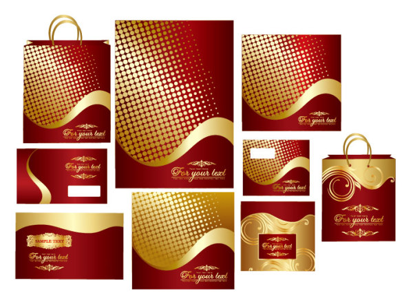 Bag envelope vector material
