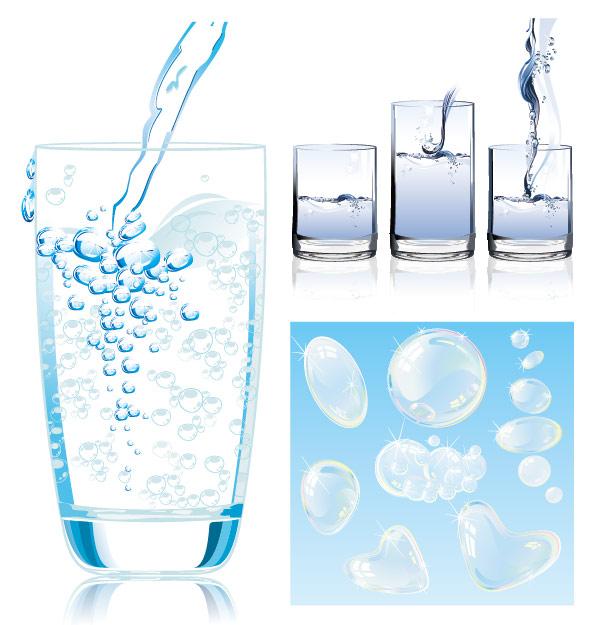 Dynamic water vector material