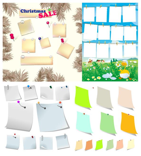 Paper Series Vector material