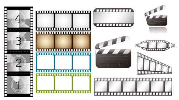 TV Theme Vector material