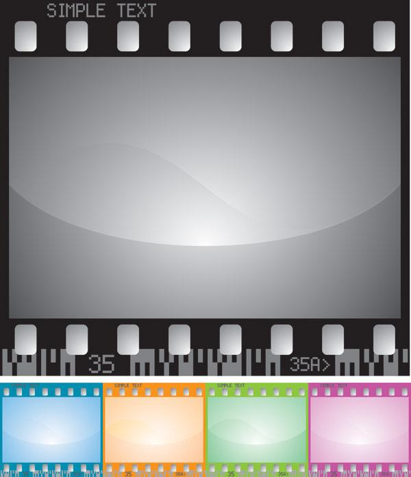 Vector film material
