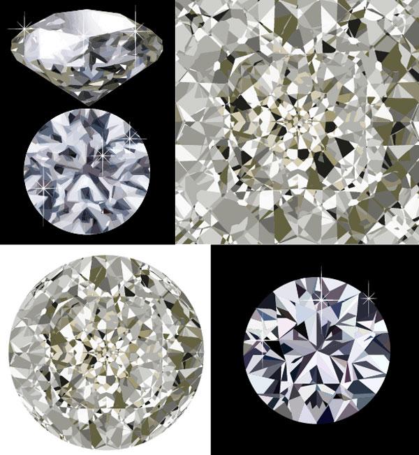 4 Diamond Vector material