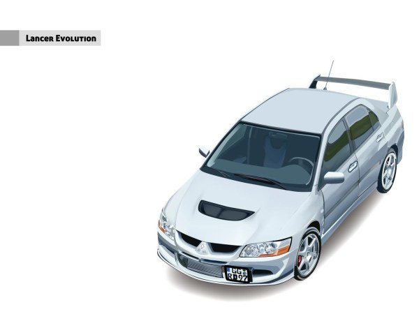 giggle vector-Lancer? Evolution car