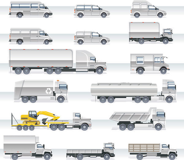 Heavy Vehicle Vector material -2