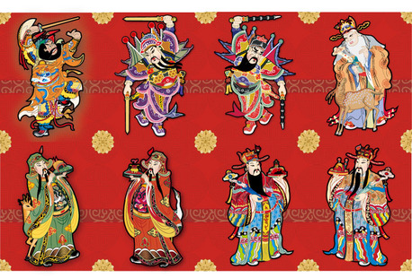 Vector Chinese New Year good luck