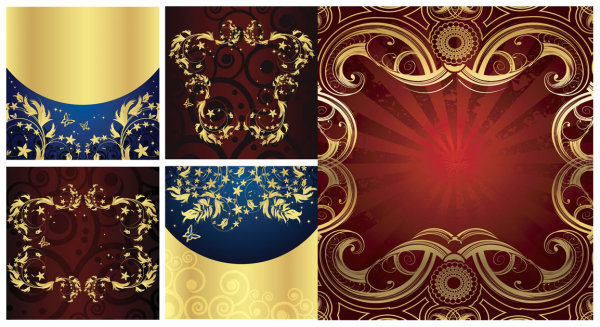 Golden element vector material