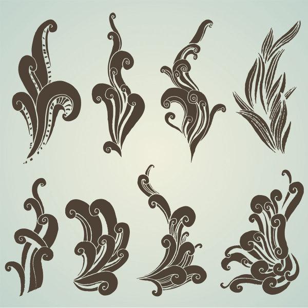Pattern vectors material