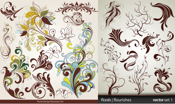 Fashionable pattern vectors