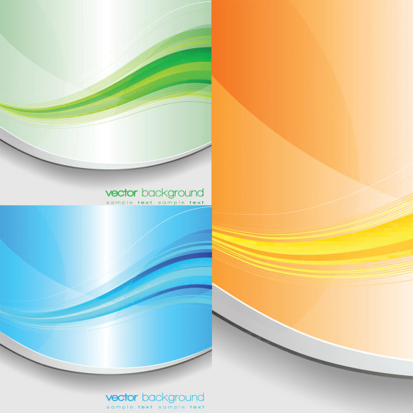 Elegant color stripe vector of material
