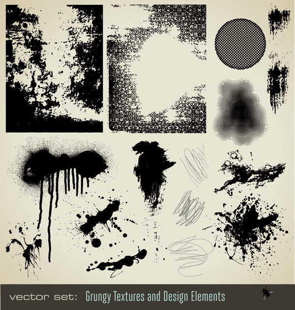 The ink ink texture vector material
