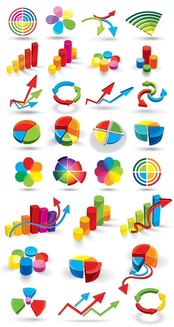 Vector diagram of color three-dimensional data