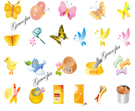 Lovely cartoon icon vector of material