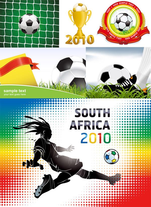 World Cup 2010 album Vector