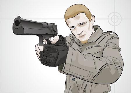 Vector gunmen