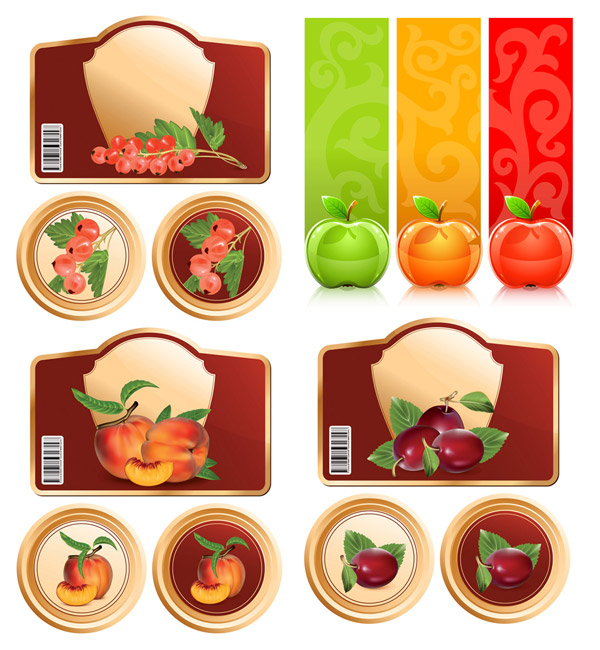 Fruit and Vector Graphics