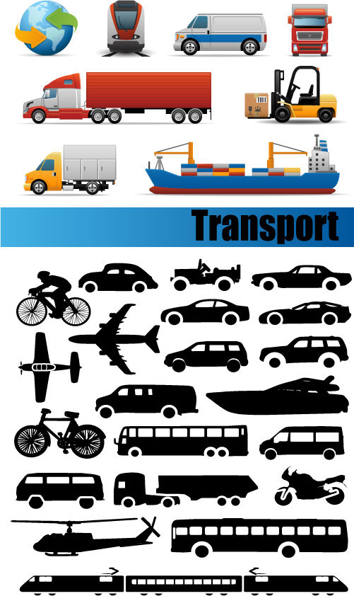 Transport vector material