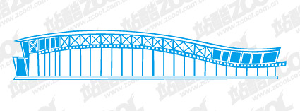 National Indoor Stadium Vector