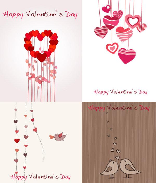 Lovely romantic Valentine