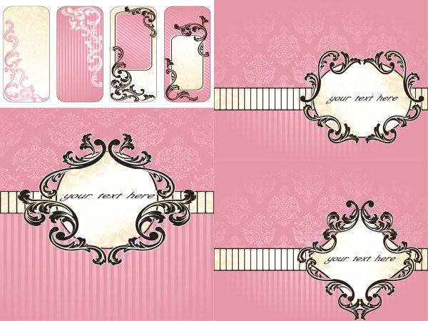 Pink background pattern