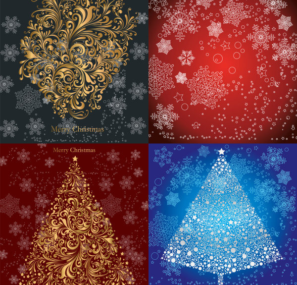 Christmas pattern - Vector
