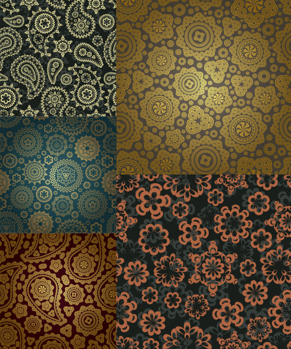 Gorgeous classic pattern background