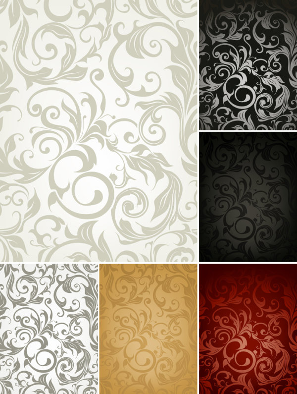 Classic shading pattern Vector