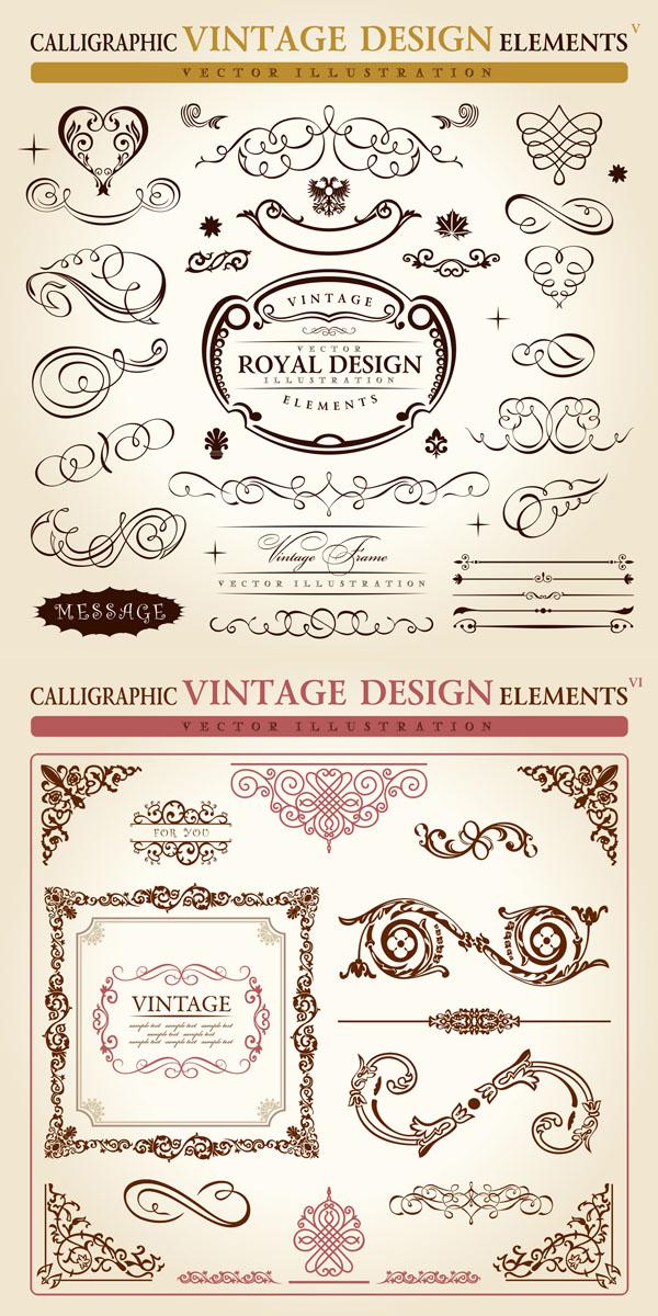 European classic pattern --02