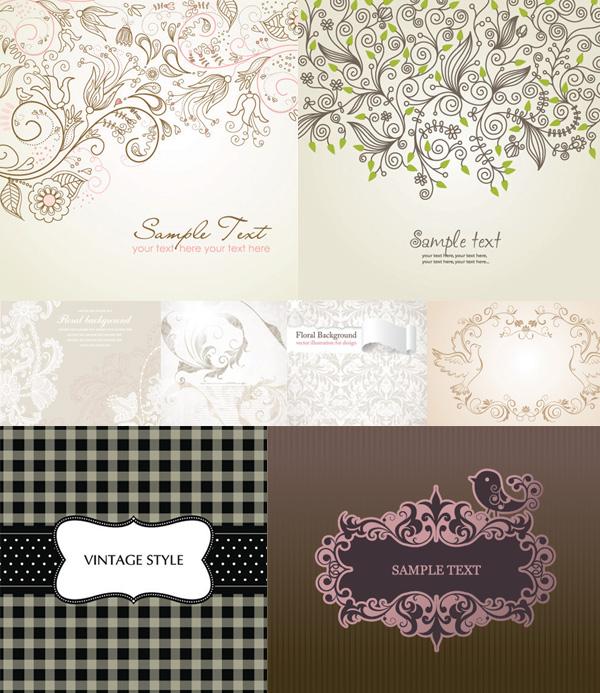 Elegant pattern material