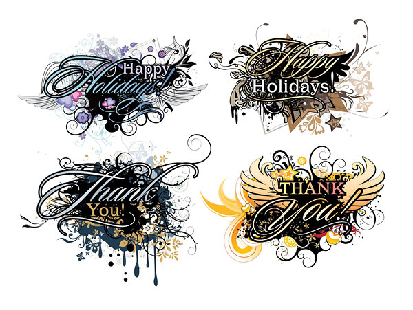 trend Wings and the word vector material