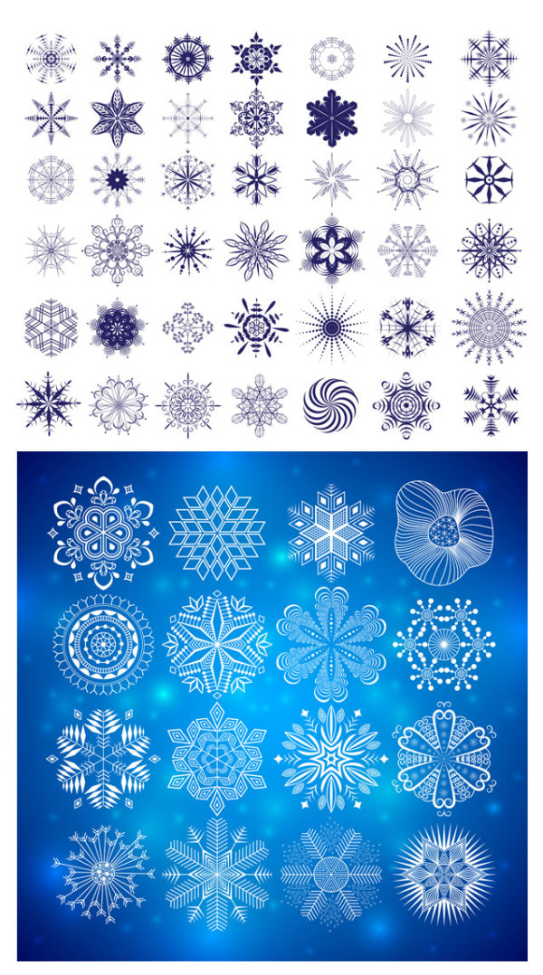 Exquisite patterns Graphics - Vector