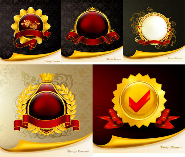 Gorgeous Medal Vector